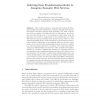 Inferring Data Transformation Rules to Integrate Semantic Web Services