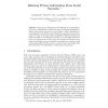 Inferring Privacy Information from Social Networks