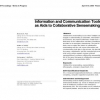 Information and communication tools as aids to collaborative sensemaking