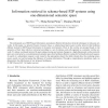 Information retrieval in schema-based P2P systems using one-dimensional semantic space