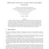 Information retrieval on mixed written and spoken documents