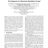 Information Reuse and System Integration in the Development of a Hurricane Simulation System