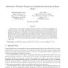 Information Theoretic Bounds on Authentication Systems in Query Model