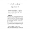 Input arrival-time-dependent decoding scheme for a spiking neural network