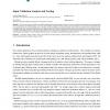 Input validation analysis and testing