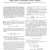 Instantaneous frequency rate estimation for high-order polynomial-phase signal