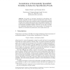 Instantiation of Existentially Quantified Variables in Inductive Specification Proofs