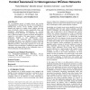 Integrated support for handoff management and context awareness in heterogeneous wireless networks