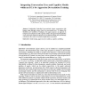 Integrating Conversation Trees and Cognitive Models Within an ECA for Aggression De-escalation Training