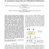Integrating E-services with a Telecommunication E-commerce using Service-Oriented Architecture