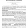 Integrating software distributed shared memory and message passing programming