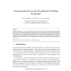 Integrating Textual and Graphical Modelling Languages