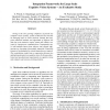 Integration Frameworks for Large Scale Cognitive Vision Systems - An Evaluative Study
