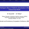 Intelligent bias of network structures in the hierarchical BOA