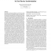 Inter-block GPU communication via fast barrier synchronization