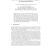 Interaction Biases in Multi-Agent Simulations: An Experimental Study