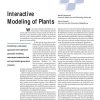 Interactive Modeling of Plants