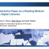 Interactive Paper as a Reading Medium in Digital Libraries