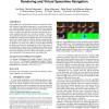 Interactive Scene Flow Editing for Improved Image-based Rendering and Virtual Spacetime Navigation