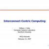 Interconnect-Centric Computing