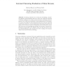 Internal Clustering Evaluation of Data Streams