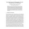 Interrelating Concerns in EA Documentation - Towards a Conceptual Framework of Relationships