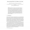 Interweaving Public User Profiles on the Web