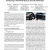 Introducing novel technologies in the car: conducting a real-world study to test 3D dashboards