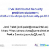 IPv6 Distributed Security: Problem Statement