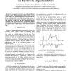 Iris Recognition Algorithm Optimized for Hardware Implementation