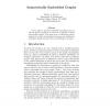 Isometrically Embedded Graphs
