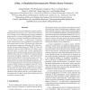 J-Sim: A Simulation Environment for Wireless Sensor Networks