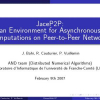 JaceP2P: an Environment for Asynchronous Computations on Peer-to-Peer Networks