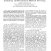 Joint and Distributed Linear Precoding for Centralised and Decentralised Multicell Processing
