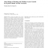 Joint Design of Routing and Medium Access Control for Hybrid Mobile Ad Hoc Networks