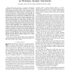 Joint source coding, routing and power allocation in wireless sensor networks