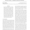 K-means in space: a radiation sensitivity evaluation