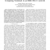 Kalman Filter Estimation of the Number of Competing Terminals in an IEEE 802.11 network