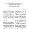 Kernel oriented discriminant analysis for speaker-independent phoneme spaces
