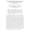 Knowledge Extraction and Summarization for an Application of Textual Case-Based Interpretation