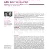 Knowledge management in the public sector: stakeholder partnerships in the public policy development