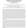 Kontinuierliche Evaluation von kollaborativen Recommender-Systeme in Datenstrommanagementsystemen