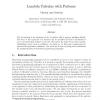 Lambda calculus with patterns