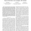 Landscape-3D; A Robust Localization Scheme for Sensor Networks over Complex 3D Terrains