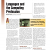 Languages and the Computing Profession