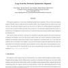 Large Grain Size Stochastic Optimization Alignment