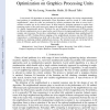 Large neighborhood local search optimization on graphics processing units