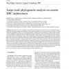 Large-scale phylogenetic analysis on current HPC architectures