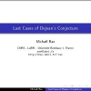 Last cases of Dejean's conjecture