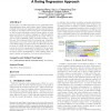 Latent aspect rating analysis on review text data: a rating regression approach